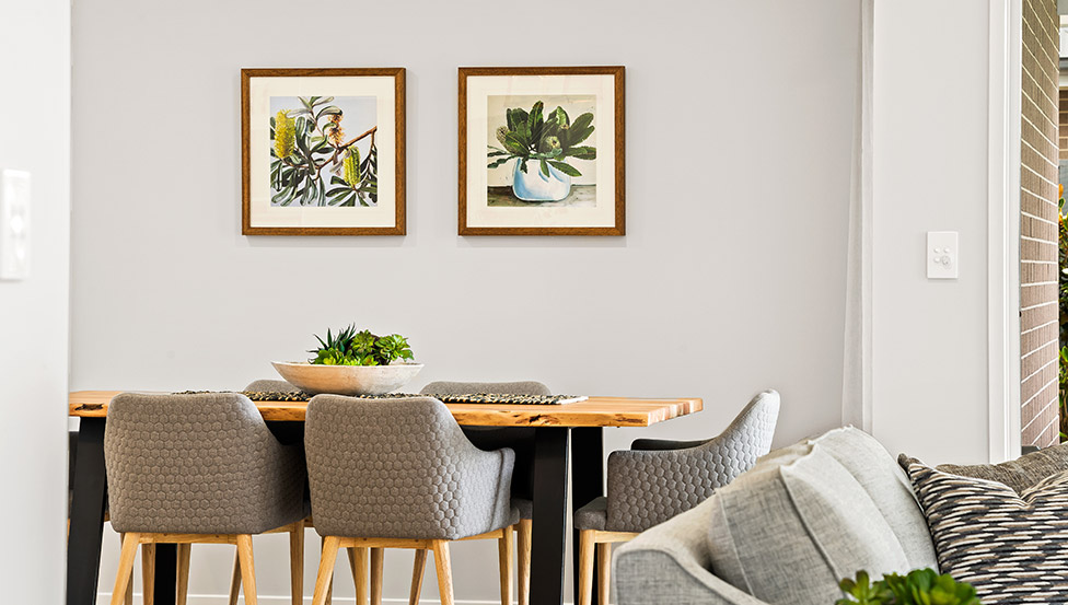 Interior Harrow Dining Area